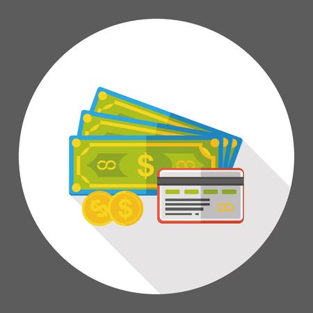 cash money: cash money flat icon