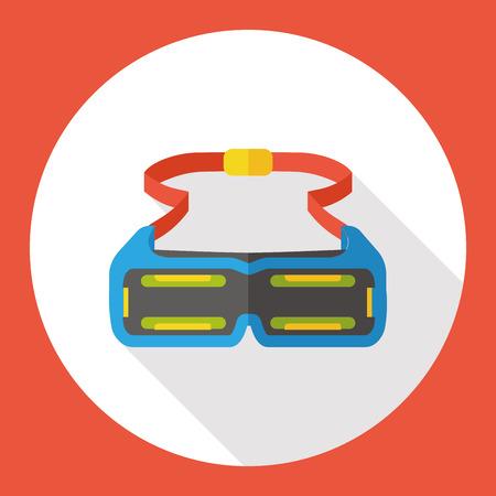 swim goggles: Swimming Goggle flat icon