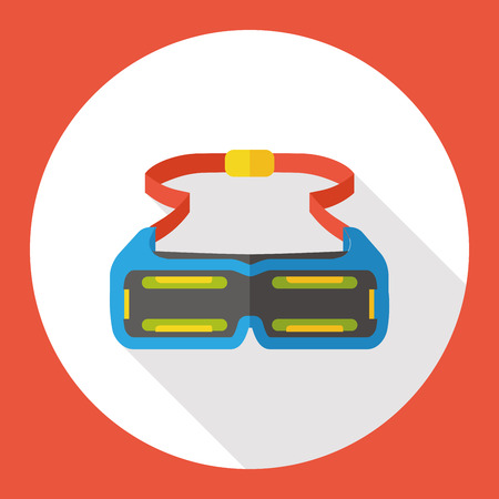goggle: Swimming Goggle flat icon