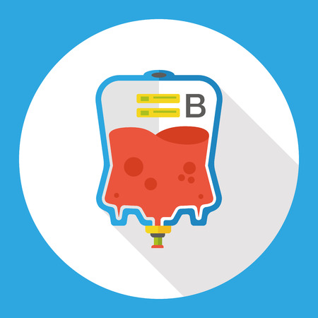 iv drip: medical drip flat icon