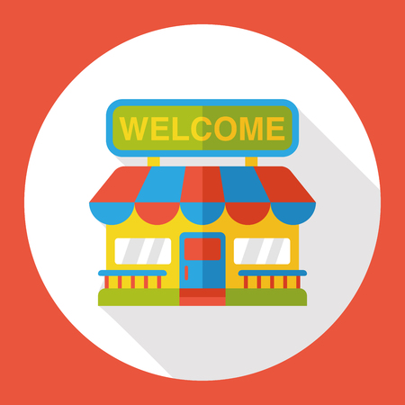 multiple choice: shopping grocery store flat icon
