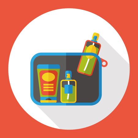 moisturizer: Lotions flat icon