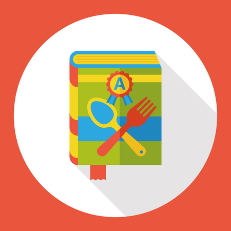 cooking book: cooking book flat icon