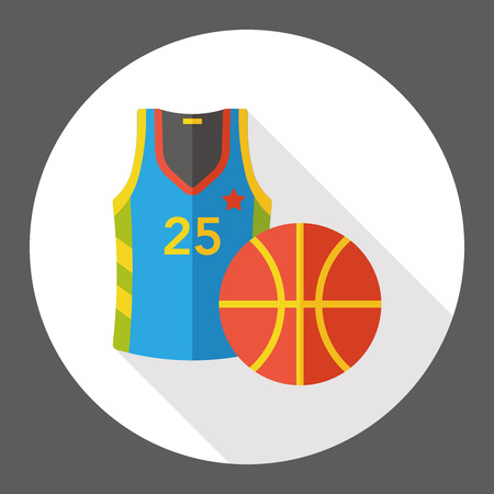 rugby team: sport basketball flat icon