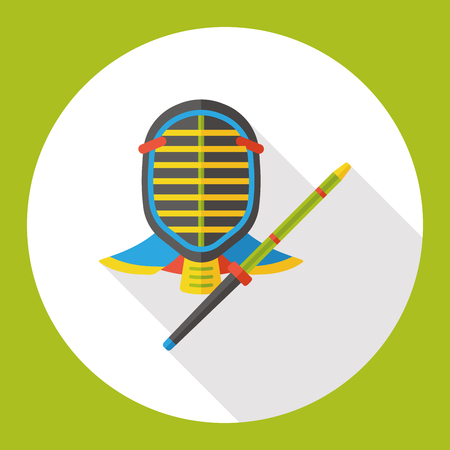 esgrima: deporte de la esgrima icono plana