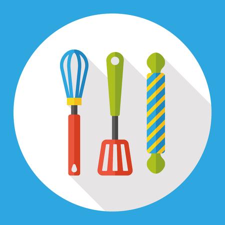 spatula: Kitchenware spatula flat icon