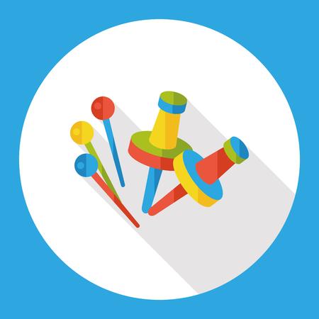 tacks: stationery pushpin flat icon