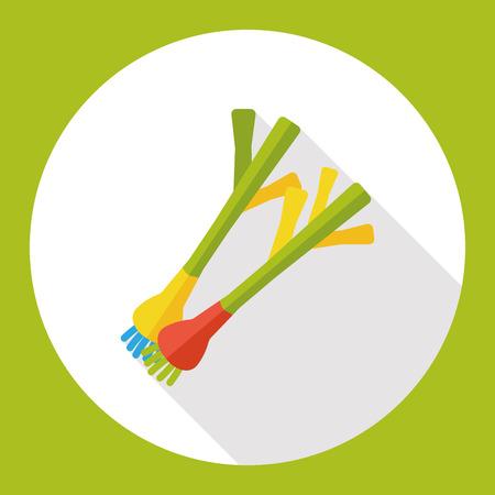 shallot: vegetable shallot flat icon