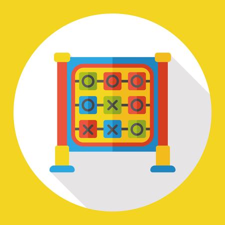 x games: tic-tac-toe flat icon