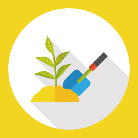plant seed: plant seed flat icon