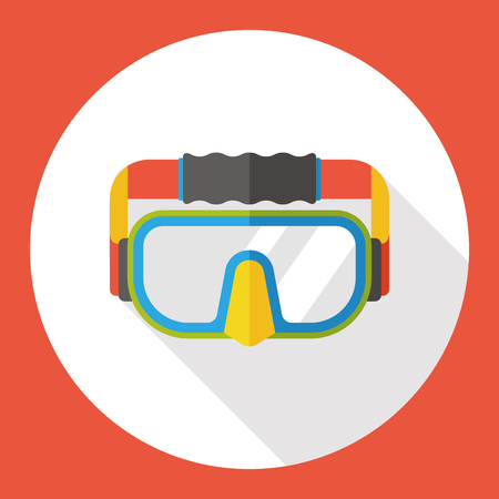 goggle: science goggle flat icon