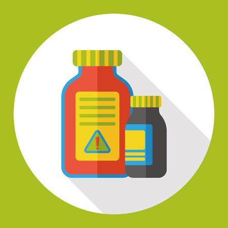 poison: toxic poison flat icon
