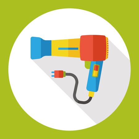 drier: Hair dryer flat icon