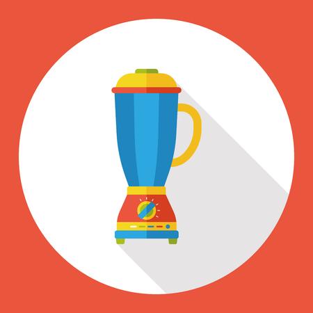 squeezer: appliances juicer flat icon