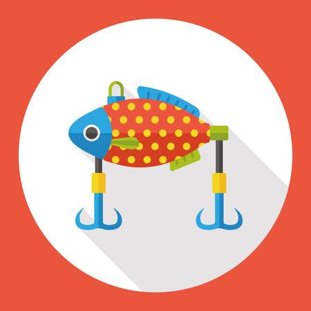 fishing bait: fishing bait flat icon