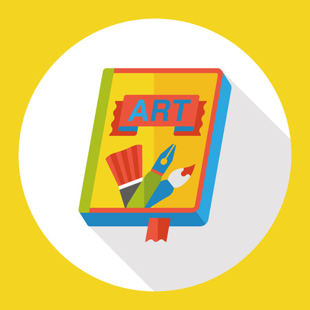 directory book: art book flat icon