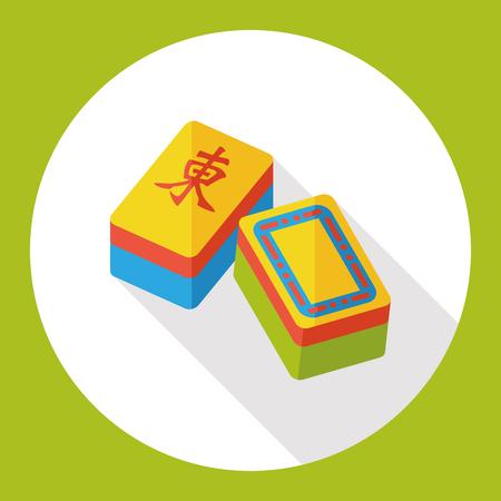 palying: Chinese Mahjong flat icon