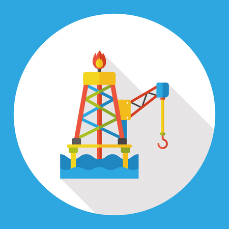 the hook: tower hook flat icon