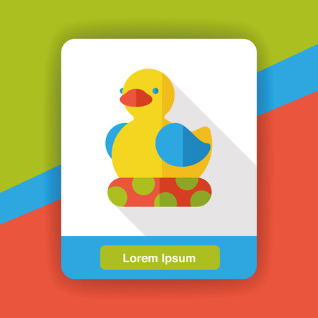 ducky: duck flat icon