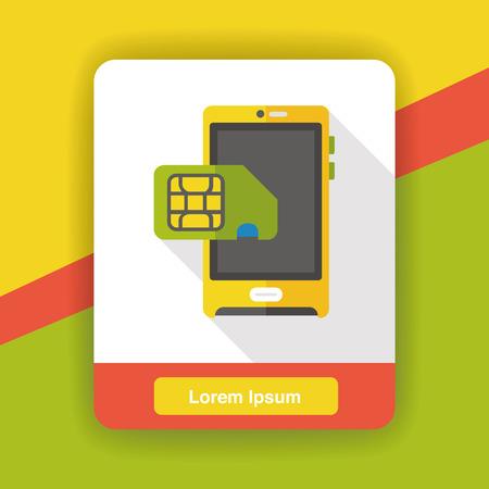 cellphone icon: cellphone flat icon