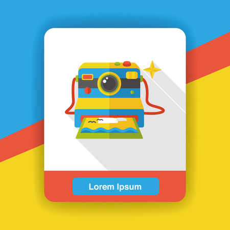 camera film: camera film flat con