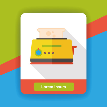 toaster: kitchenware toaster flat icon