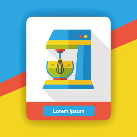 kitchenware: kitchenware beater flat icon
