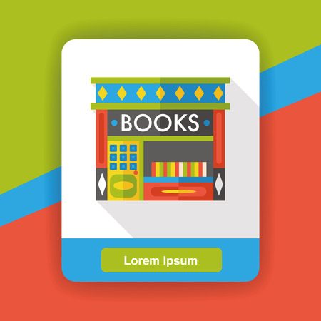 book store: book store flat icon