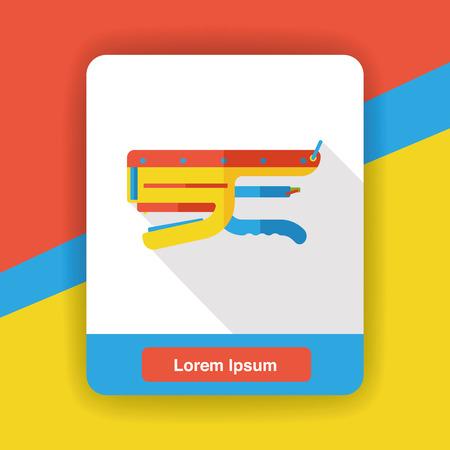 grapadora: papelería grapadora icono plana