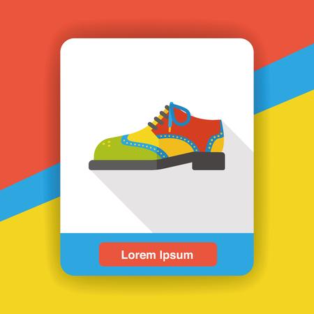 wearing: wearing shoes flat icon