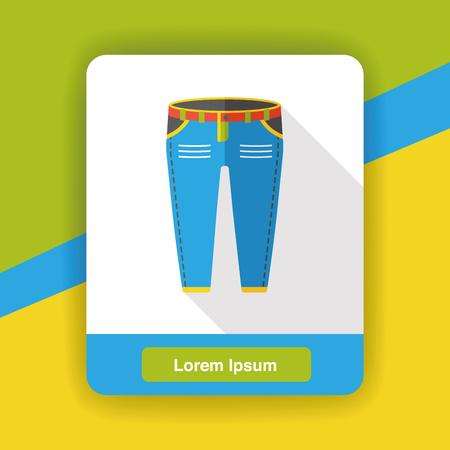 pants: wearing pants flat icon