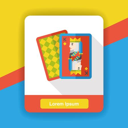 poker card: poker card flat icon