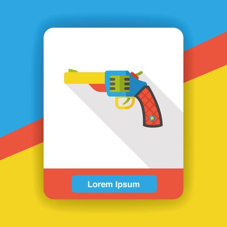 weapon: weapon gun flat icon