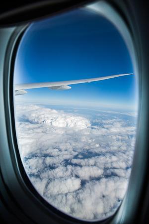 plane window: Airplane window