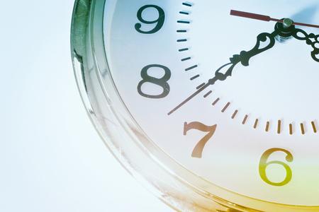 The Vintage Clock Stok Fotoğraf
