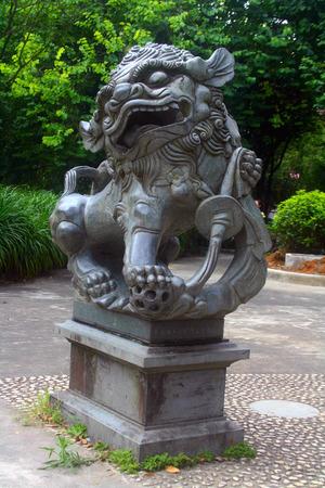 stone lion: Stone lion Editorial