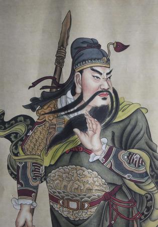 gong: Guan Gong painting