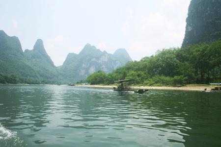 The Lijiang River in Guilin