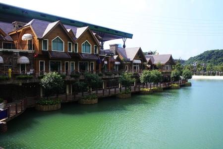eastern: Eastern overseas Chinese town Editorial