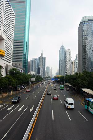 rd: Shenzhen CBD scenery