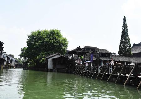 Tourist at Wuzhen 新聞圖片