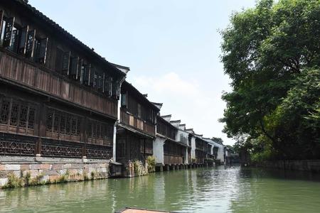 Wuzhen scenery 版權商用圖片