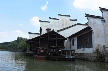 Ancient boat at Wuzhen