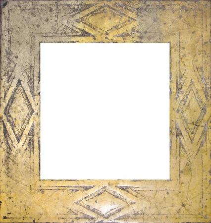 Worn marble frame