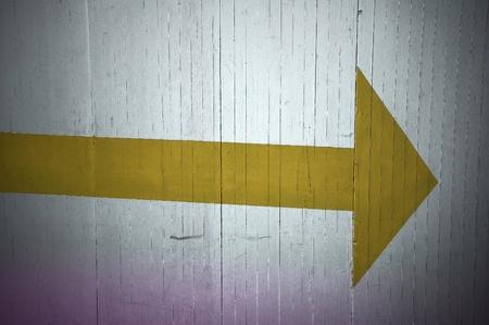 roadworks: Arrow right. Roadworks: direction indicator for pedestrian.