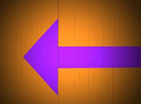 roadworks: Arrow left. Roadworks: direction indicator for pedestrian.
