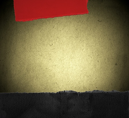 Grunge paper background with border