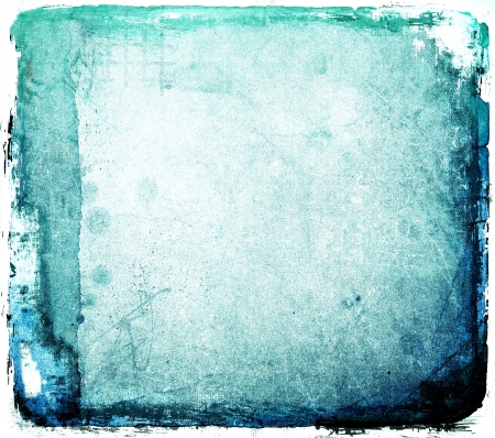 Grunge blue abstract background photo