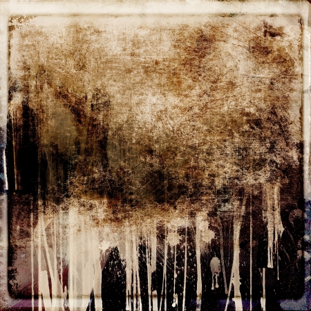 Grunge dripping abstract background Stock Photo - 16133488