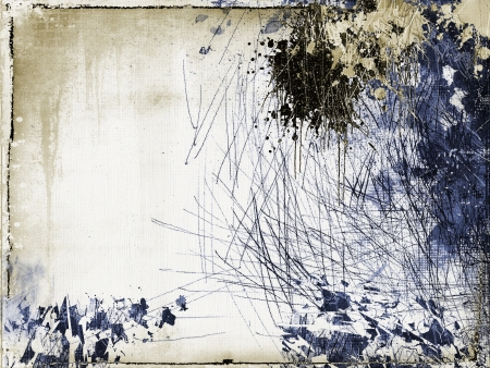 Grunge scratched abstract background